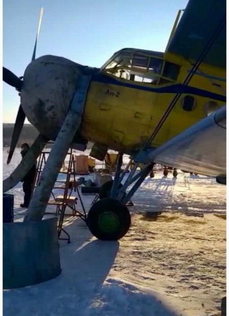 На аэродроме Магадан-13 при взлёте 20 февраля упал самолет АН-2